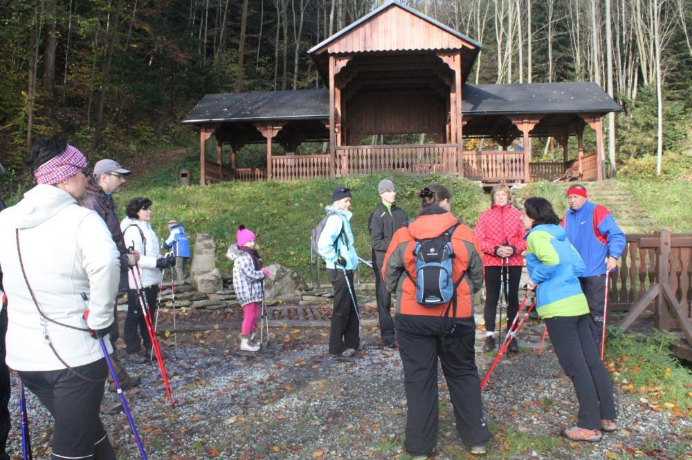 Nordic walking v Beskydech